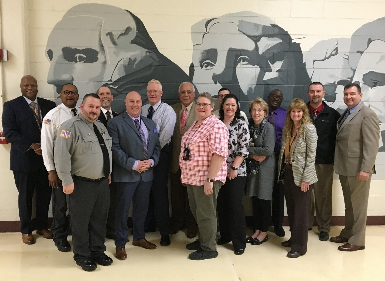 ACA Auditors Visit London Correctional Institution