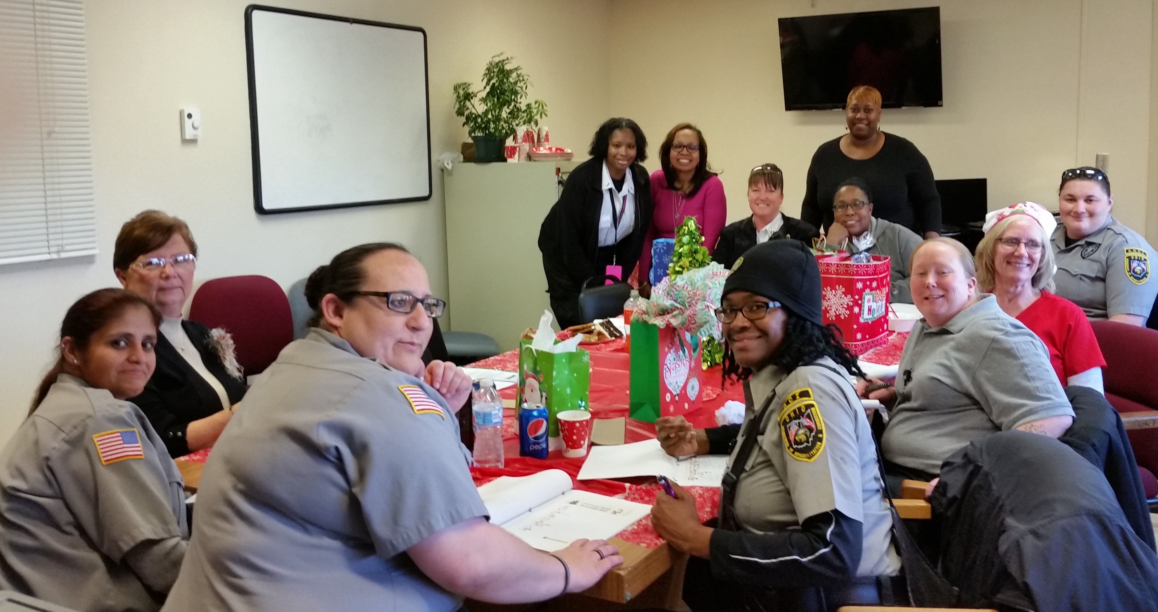 AOCI Women in Corrections Celebrates the Holiday Season
