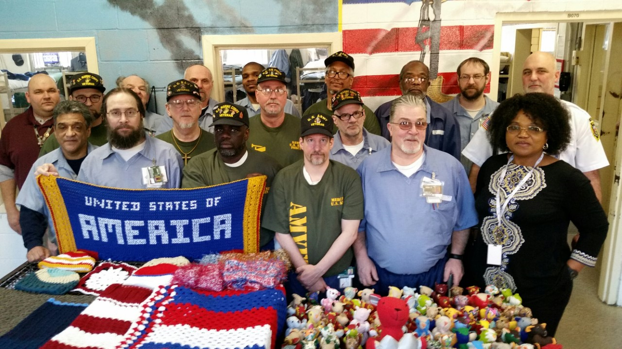 Marion Correctional Amvets Post42 Community Service Project