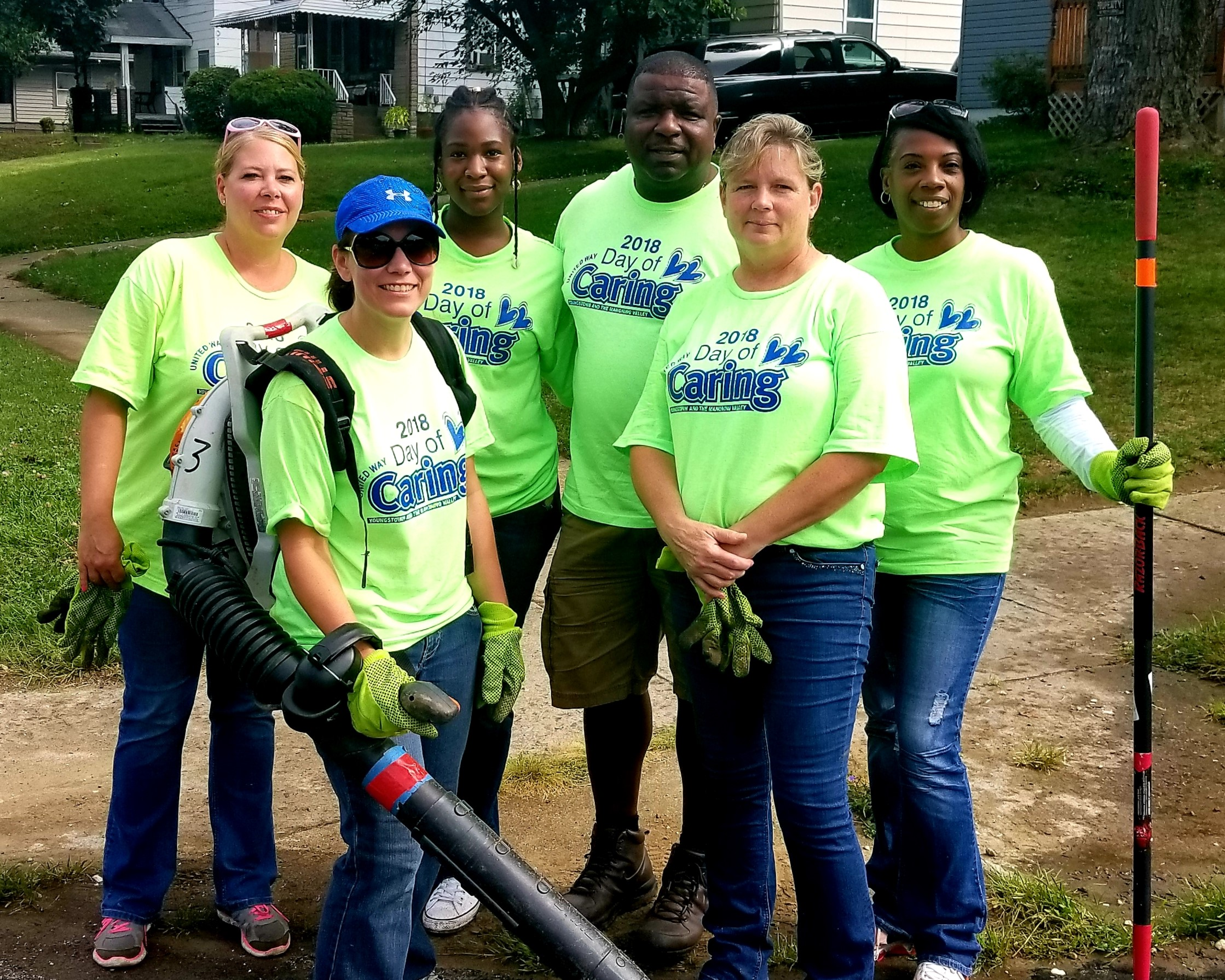 OSP Women in Corrections Participated in the Annual Day of Caring