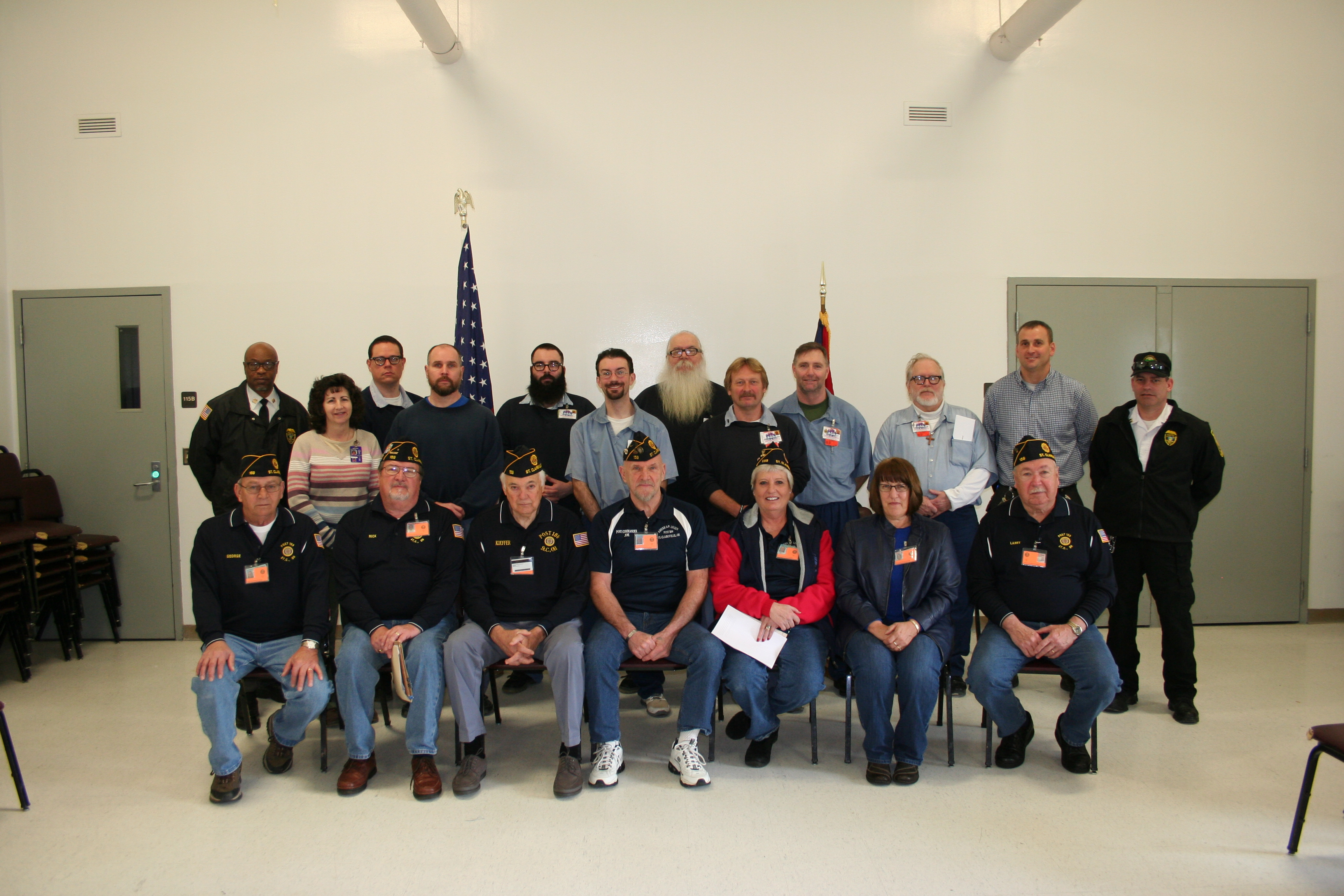 BeCI Offenders Become American Legion Members