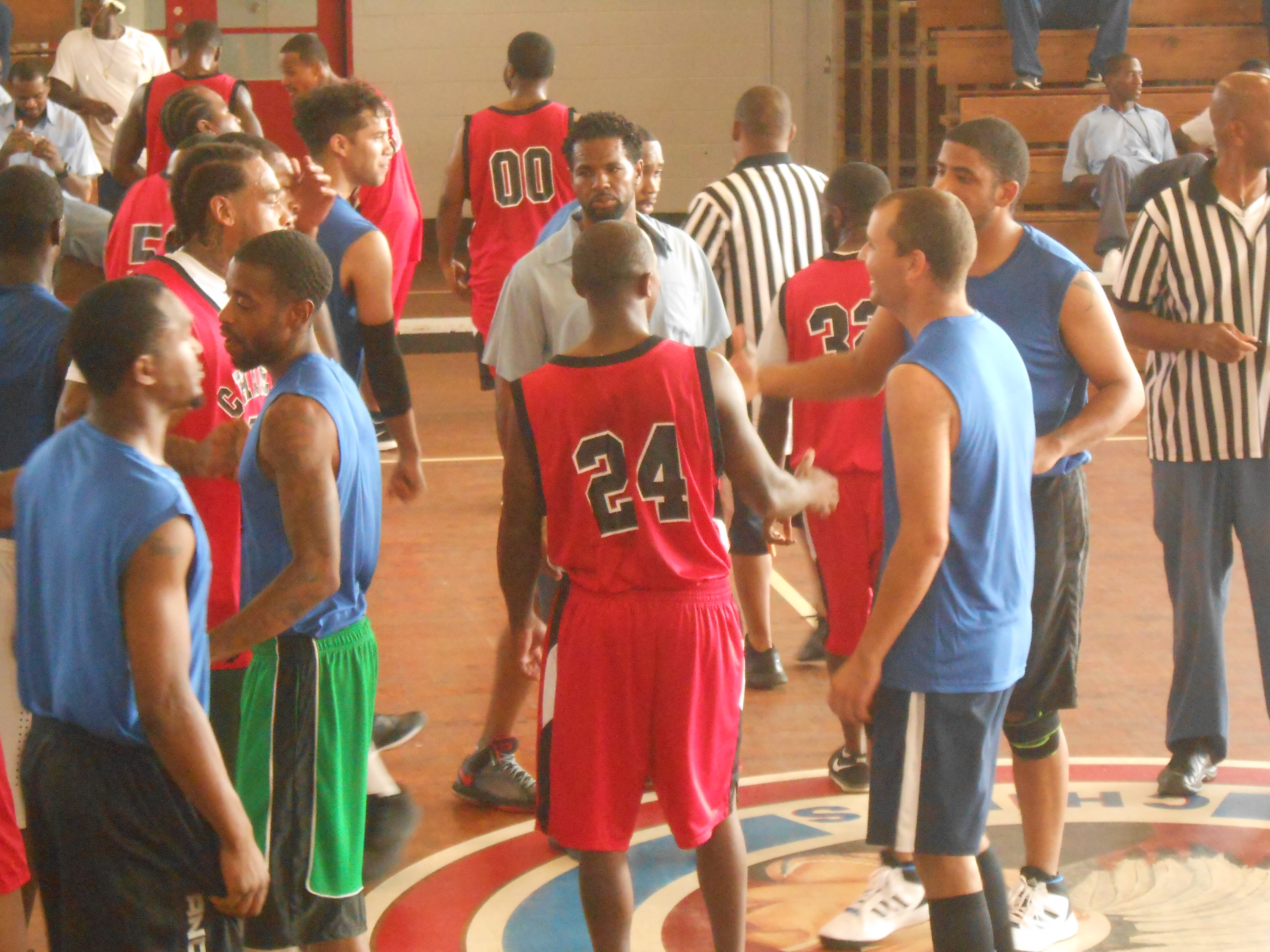 Lebanon Correctional Institution : Basketball Game with Paul Graham