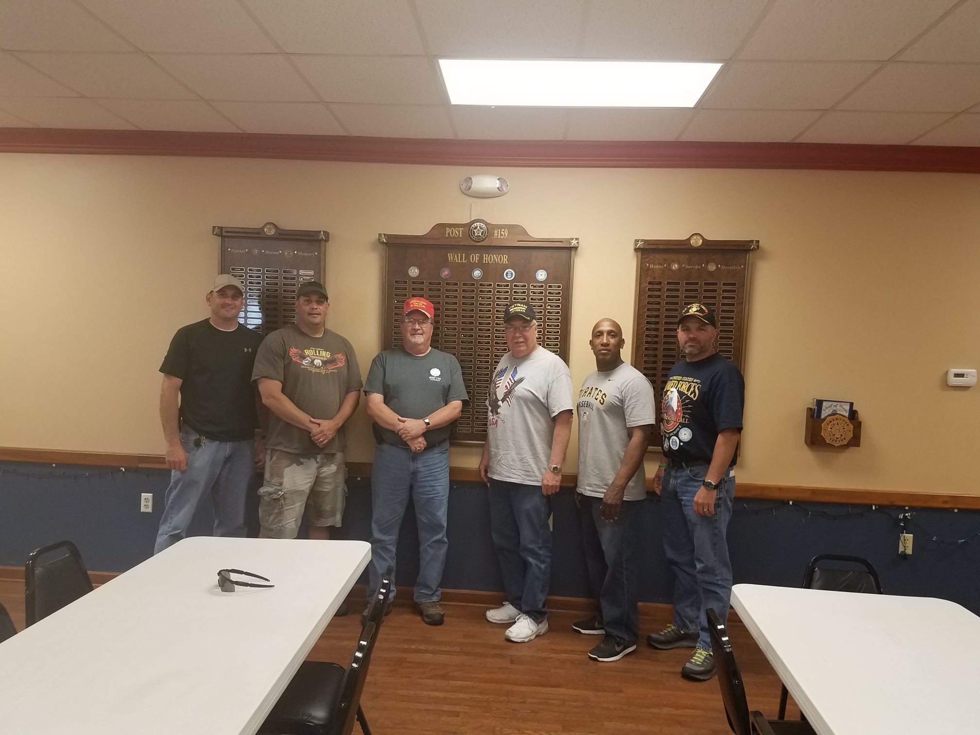 BeCI Staff Assist American Legion with Memorial Day Preparation