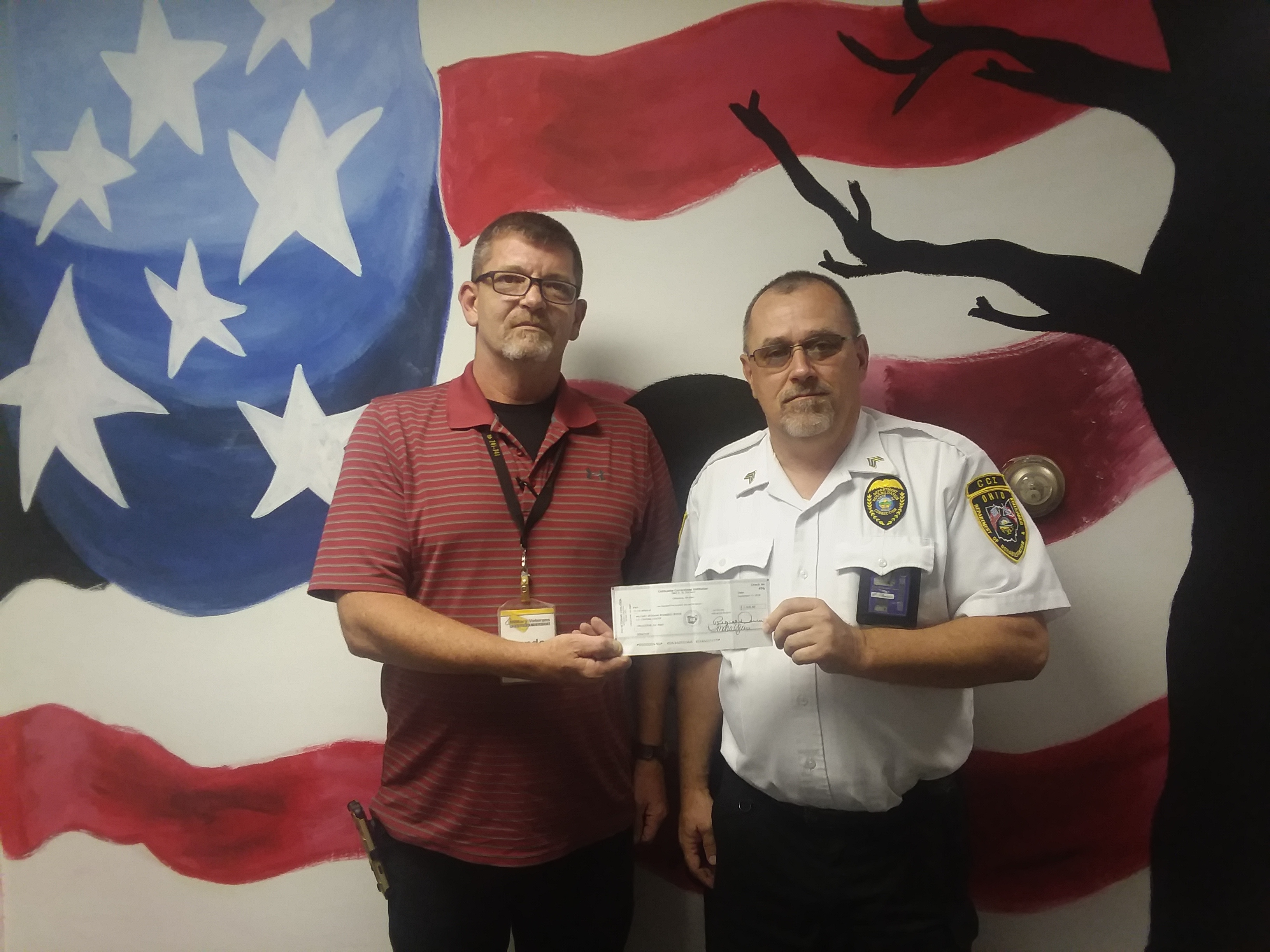 CCI's Veteran's Coalition Group Makes Donates