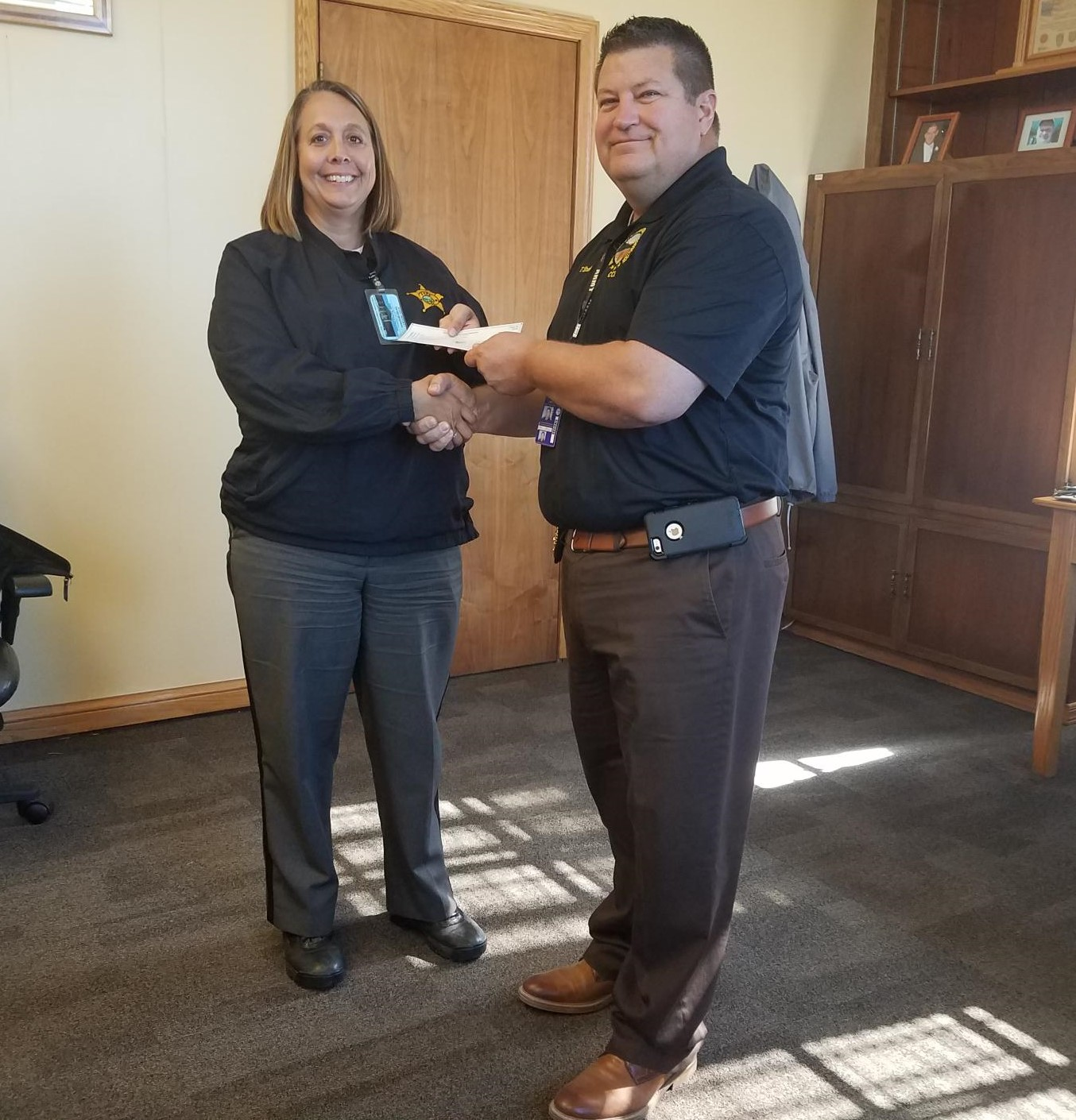 A Donation to D.A.R.E. From Chillicothe Correctional Institution