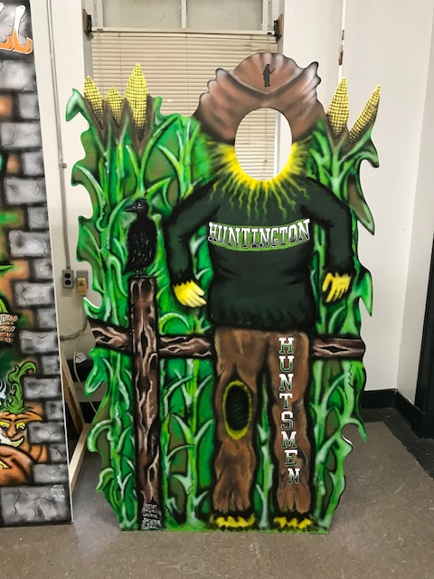 CCI Help Create for Fall Fest at Huntington High School