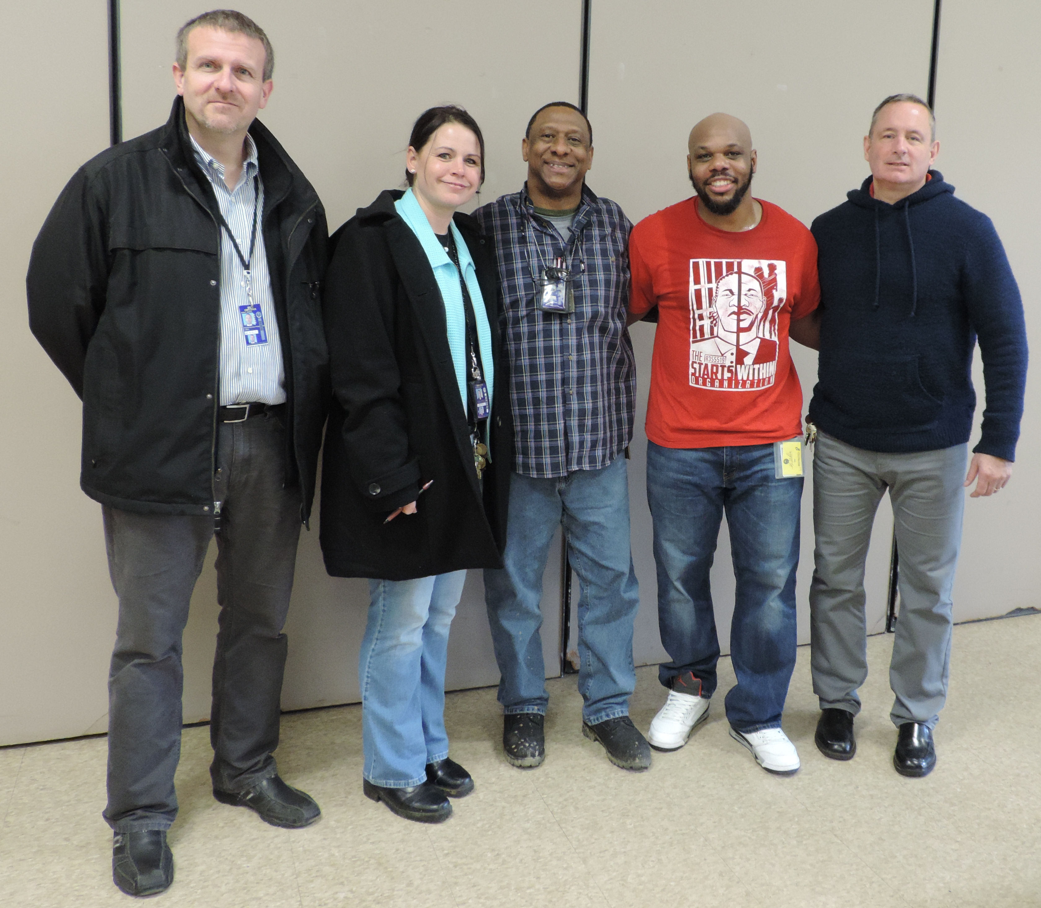 Carlos Christian Visits Lorain Correctional Institution