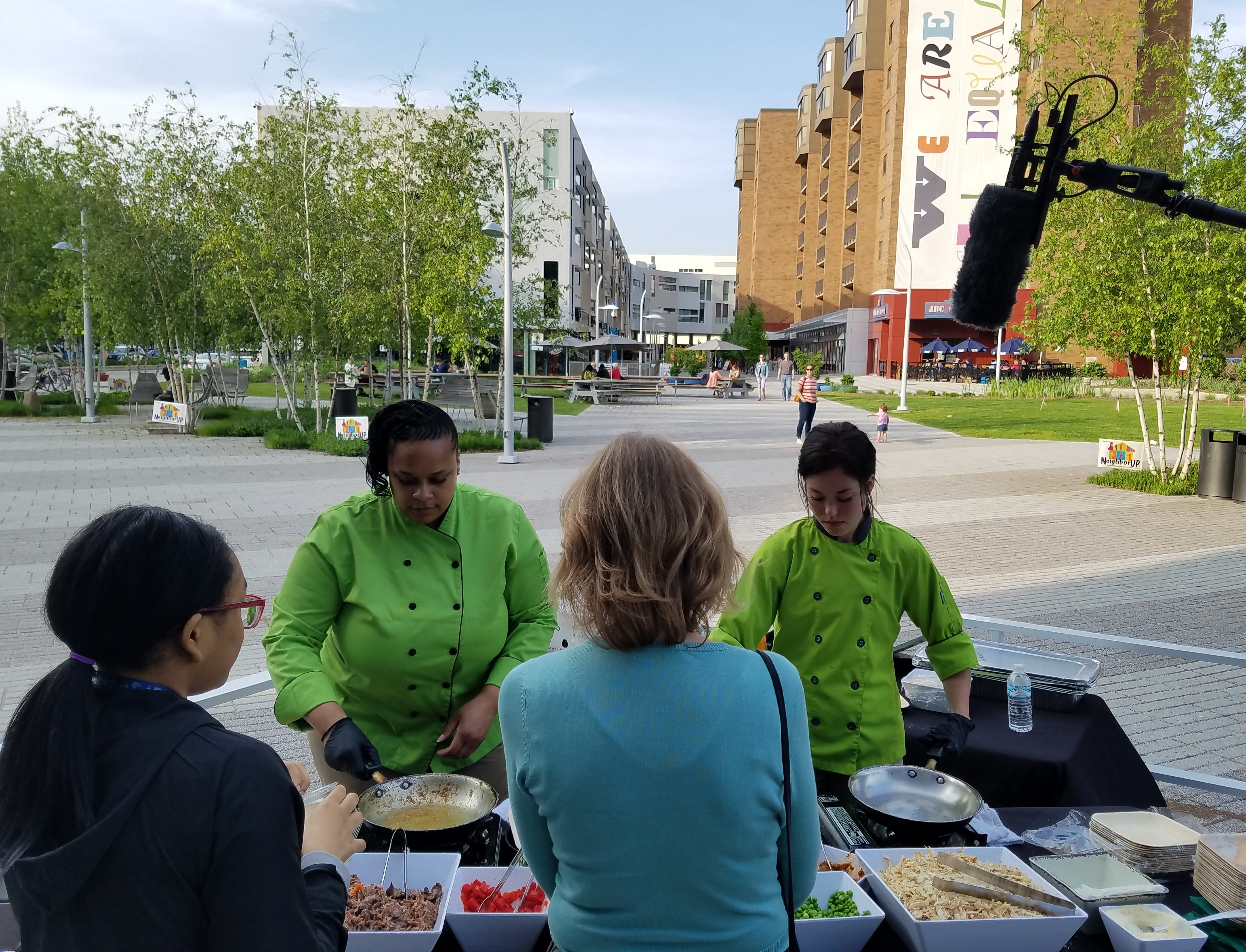 LMM Culinary Students in Uptown Cleveland