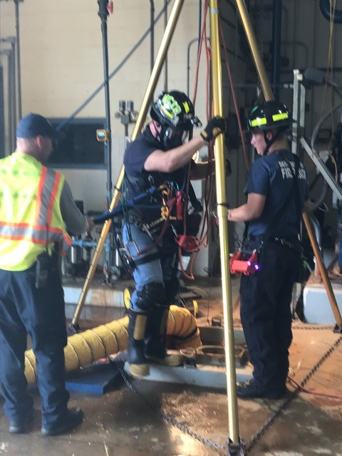 Confined Space at WCI and LeCI