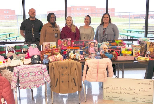 WCI Coordinates Gift Drive for YWCA's Dove House