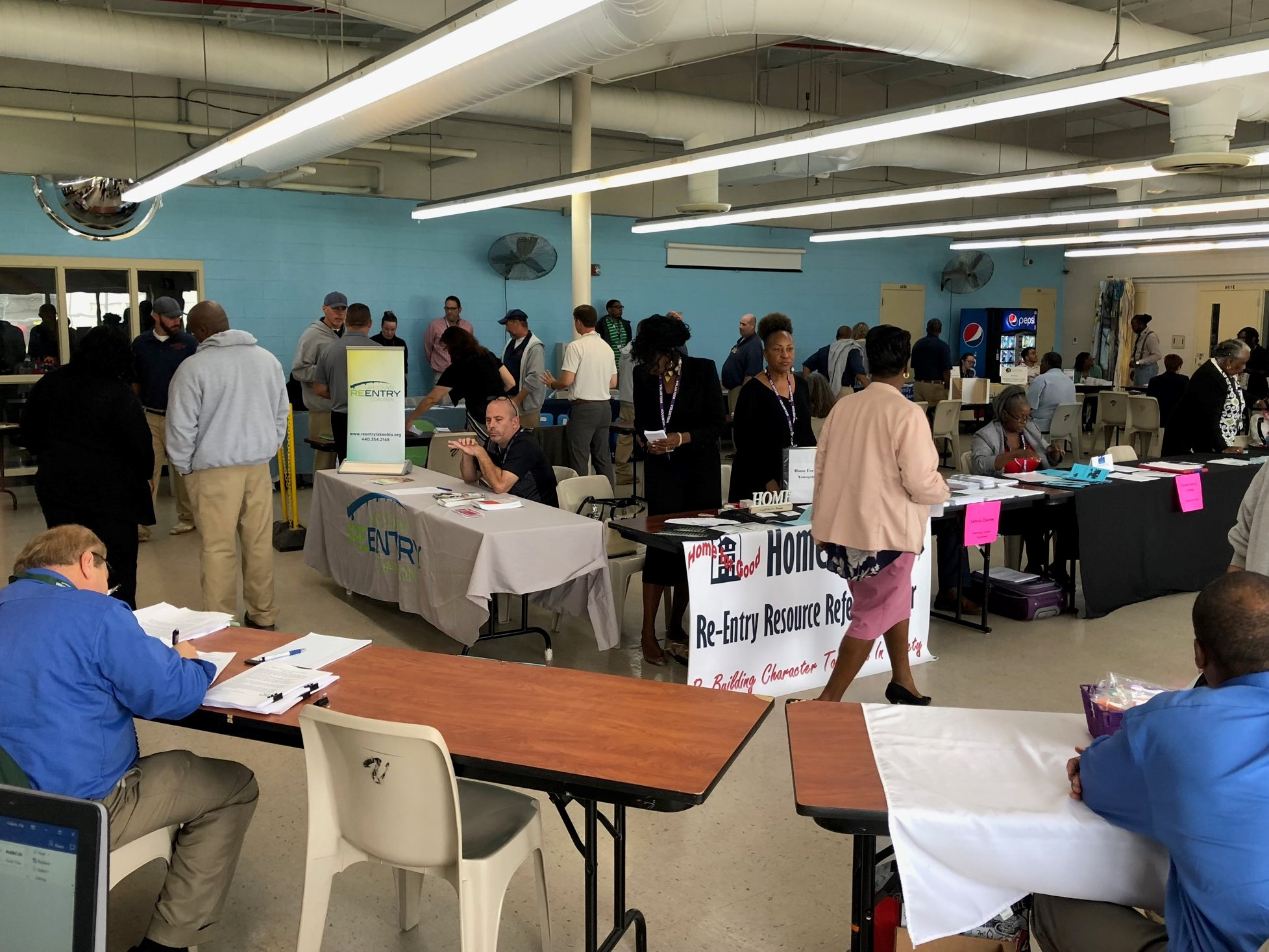 Reentry Fair at Grafton Correctional Institution