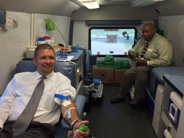 Warren Correctional Institution Mobile Blood Drive