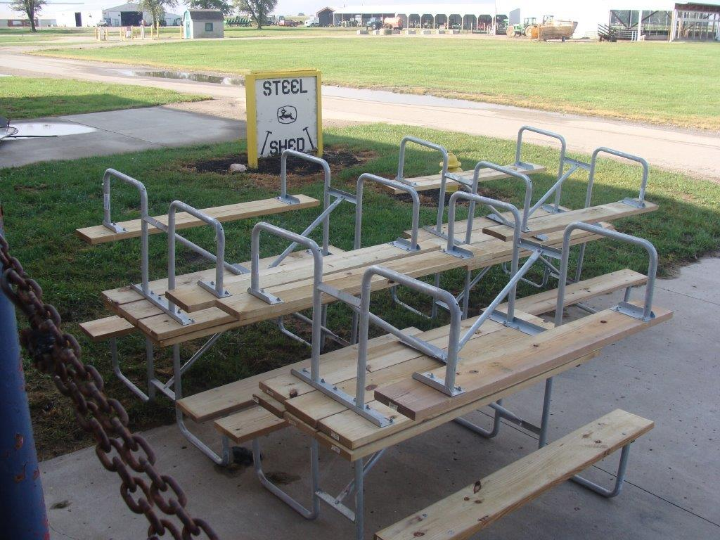 Picnic Tables Built at London Correctional Institution