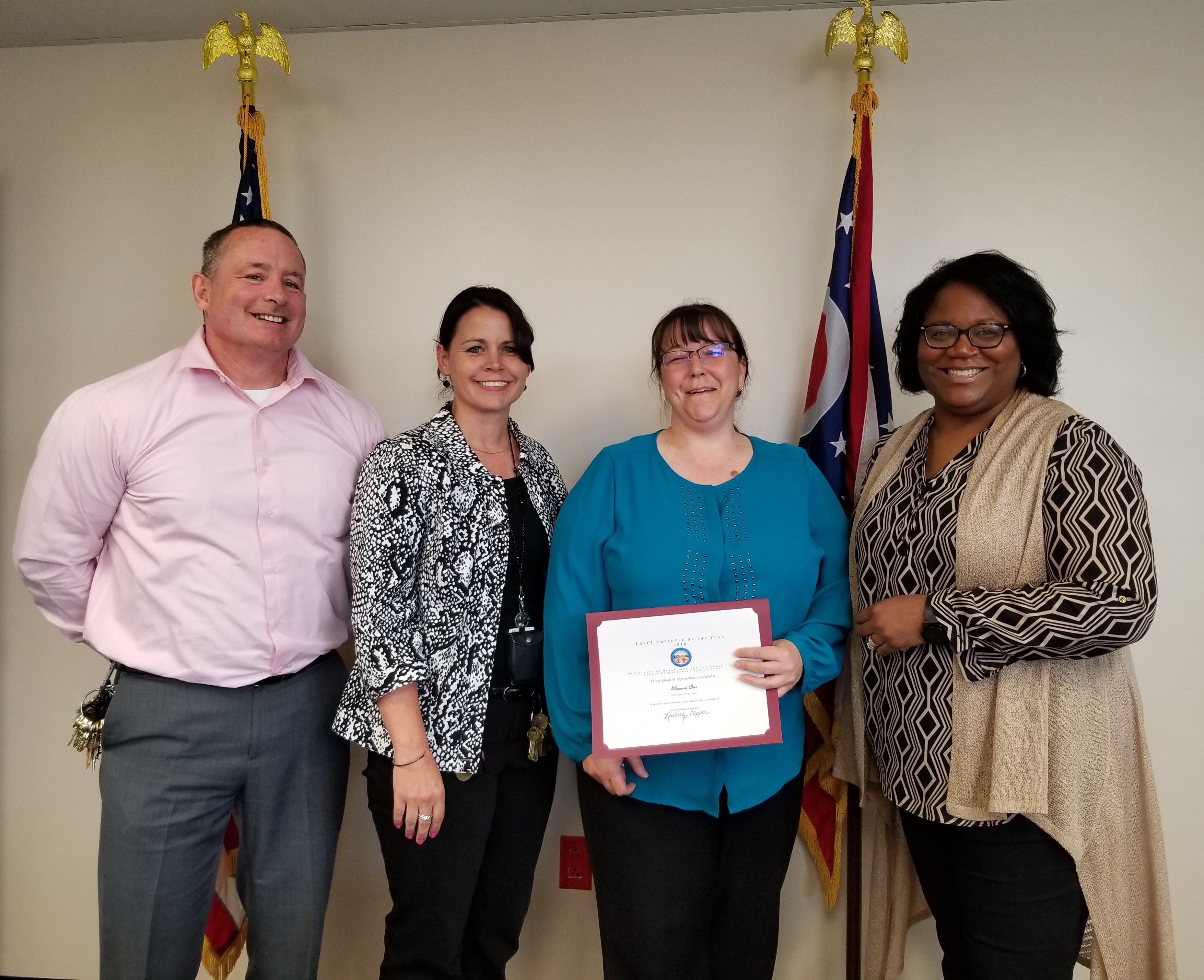 LorCI's 2018 Employee of the Year Shannon Bier