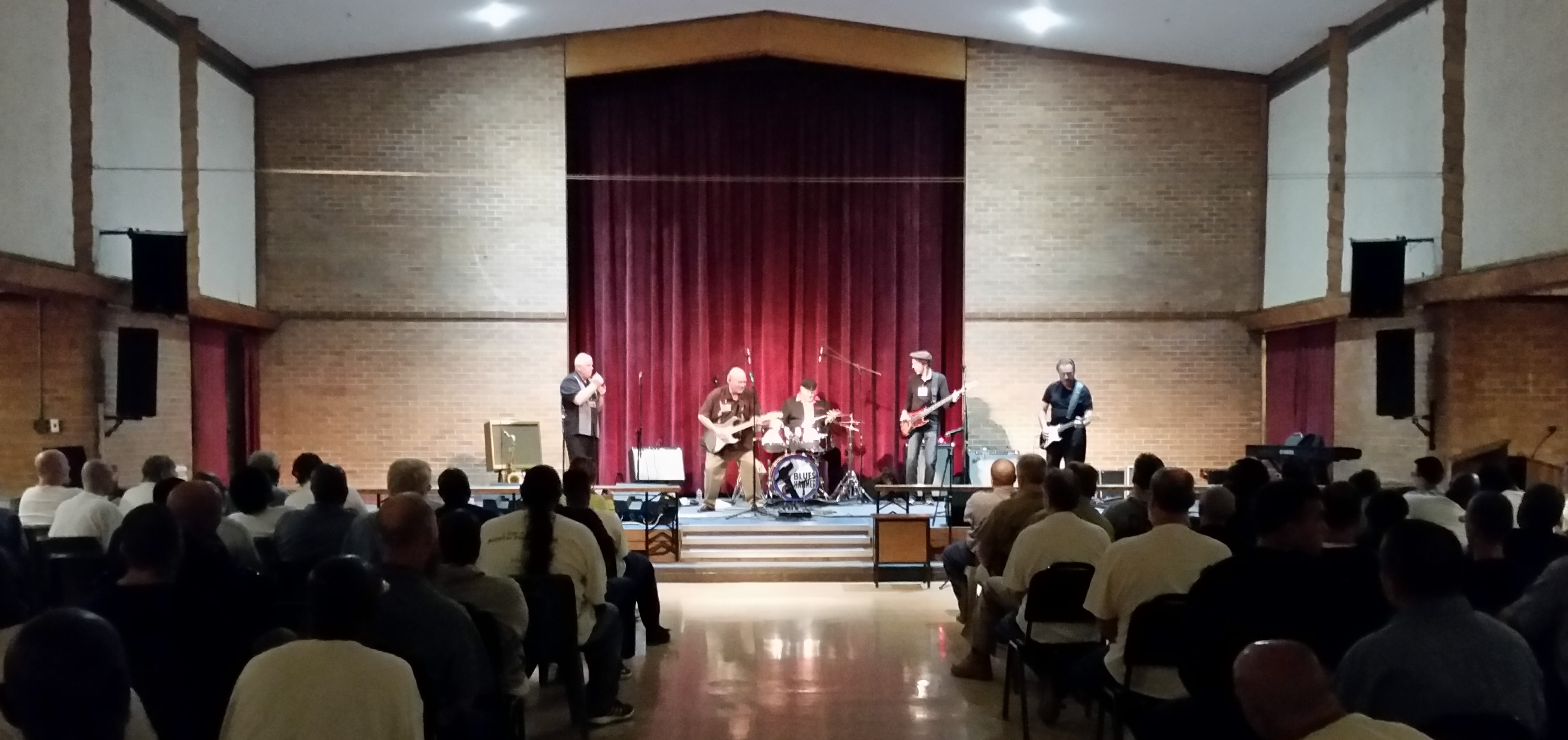 The Blues Prevail at Marion Correctional Institution
