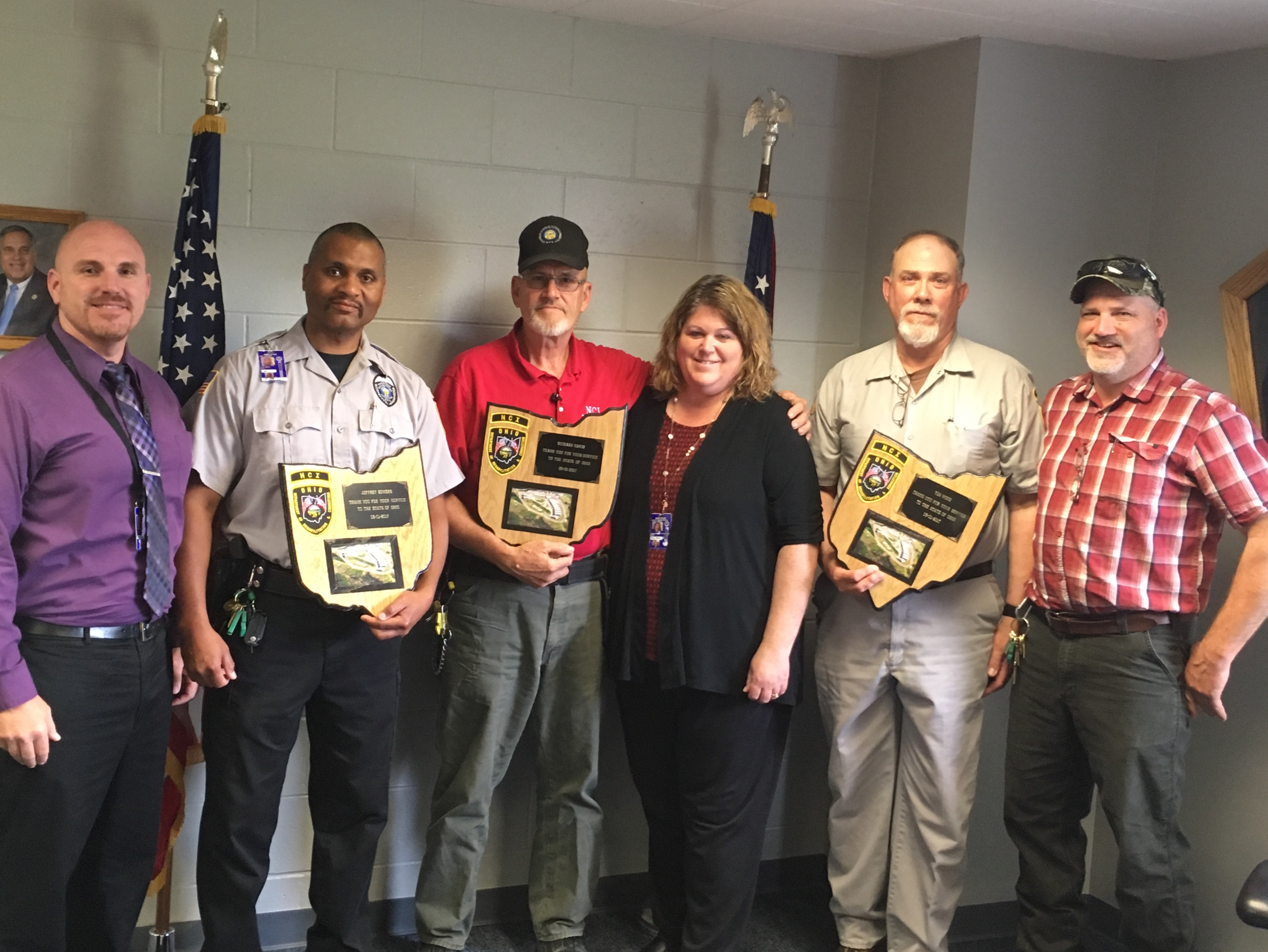 Noble Correctional Institution Honors Retirees