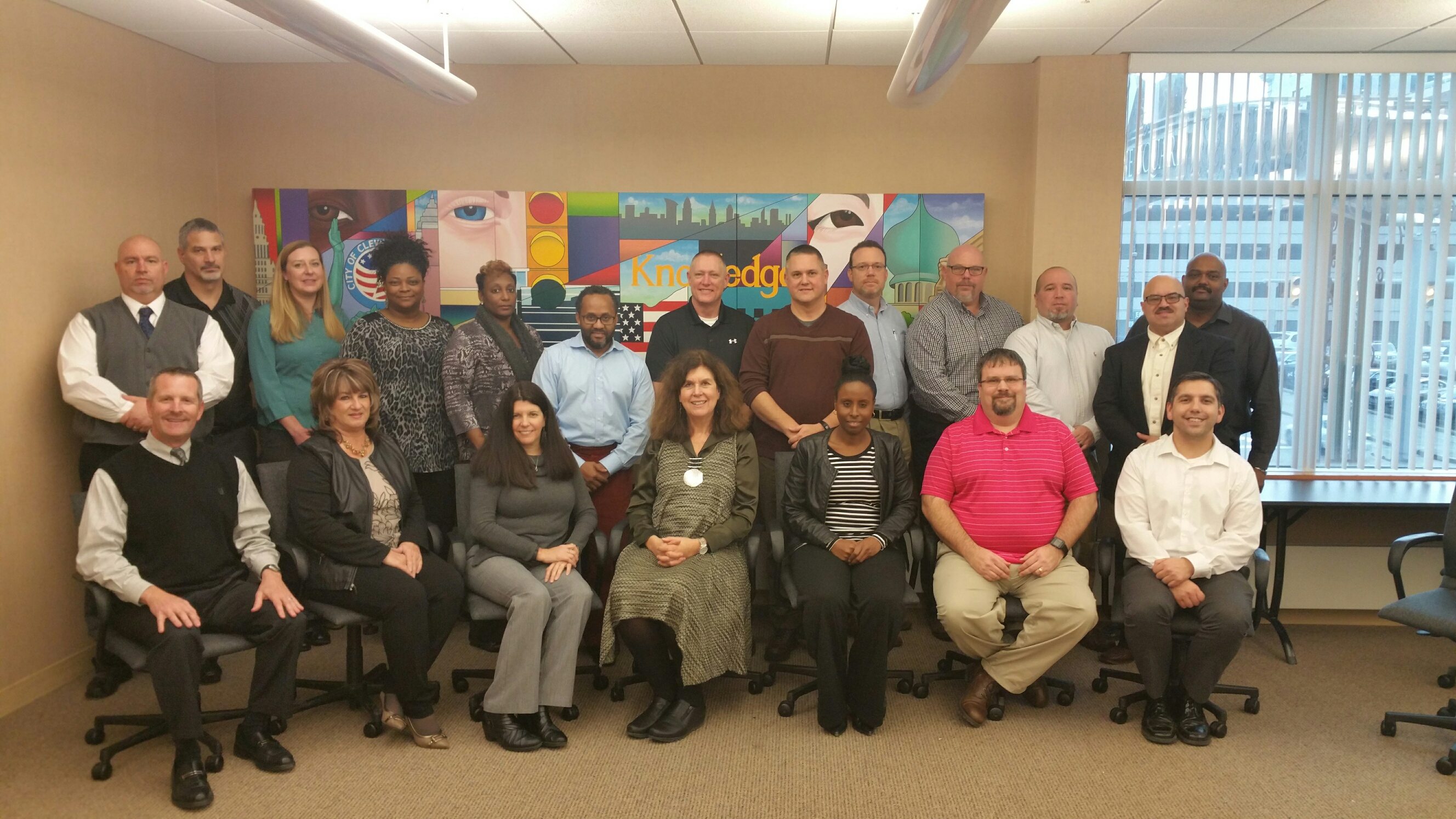 NE Region Staff Complete Leadership Training at Cleveland State University