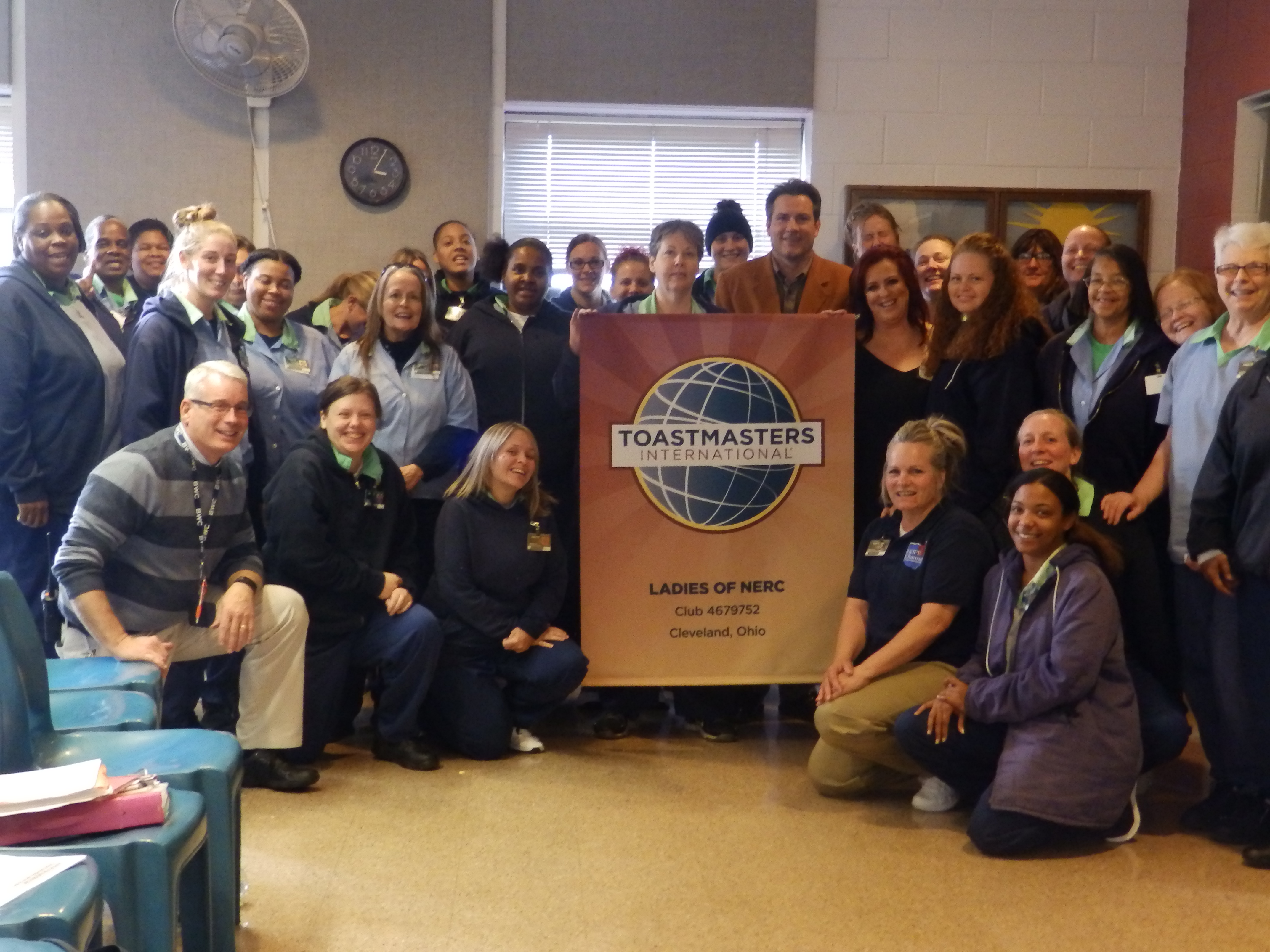 NERC Toastmasters Club Recognized