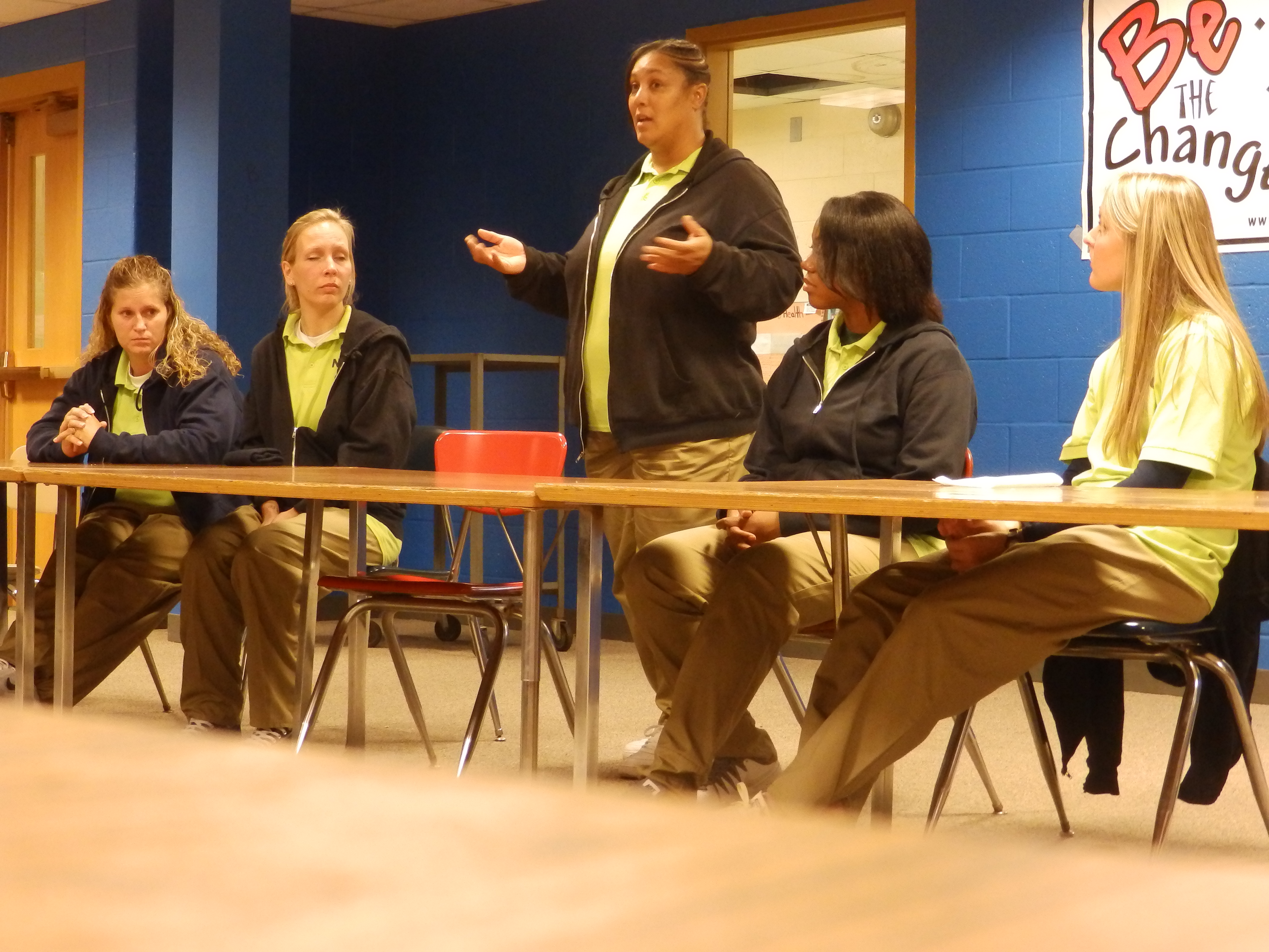 NERC Ladies Speak to High School Students