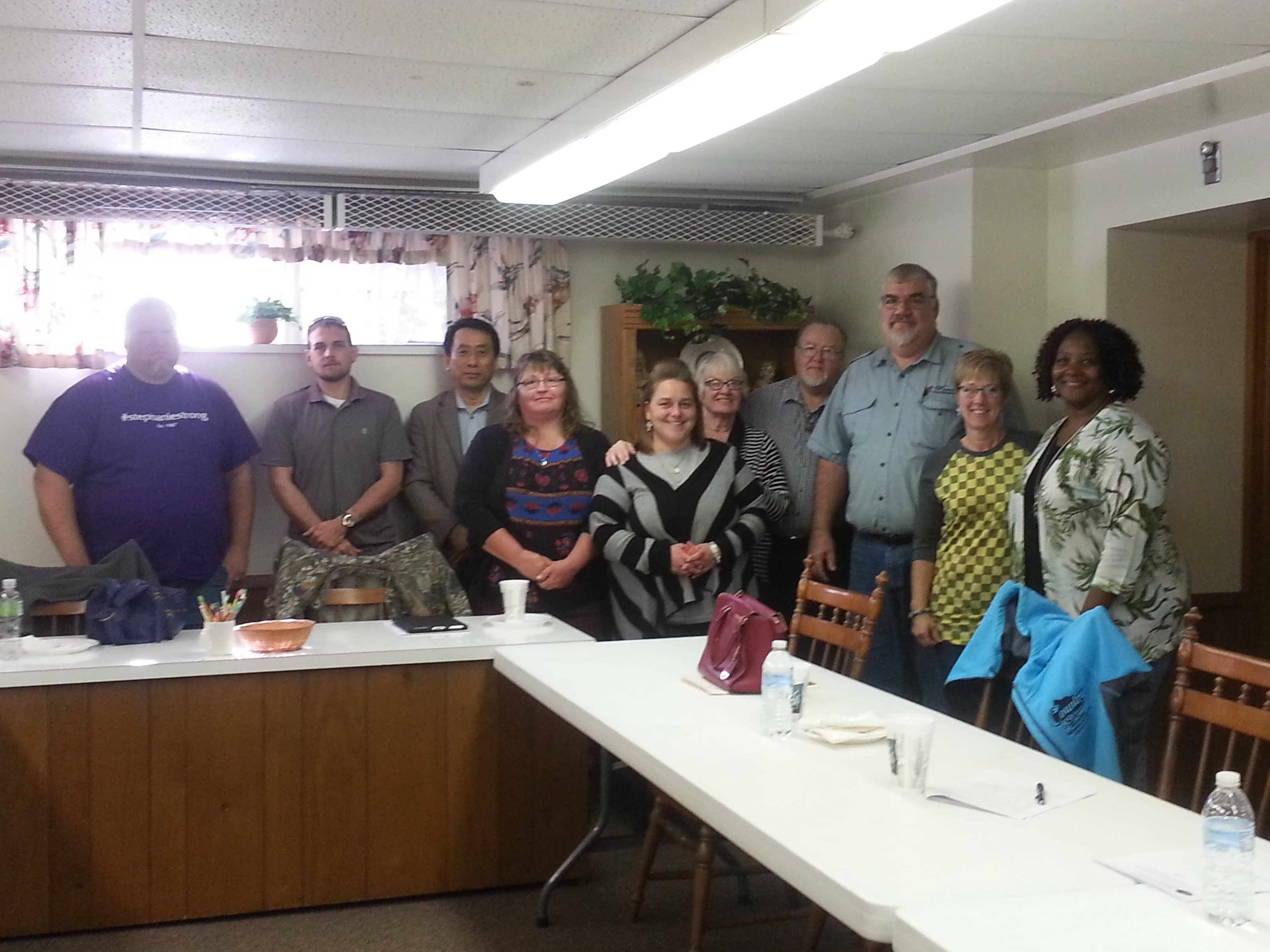 NWP Churches Explore Reentry Efforts with Allen Oakwood Correctional