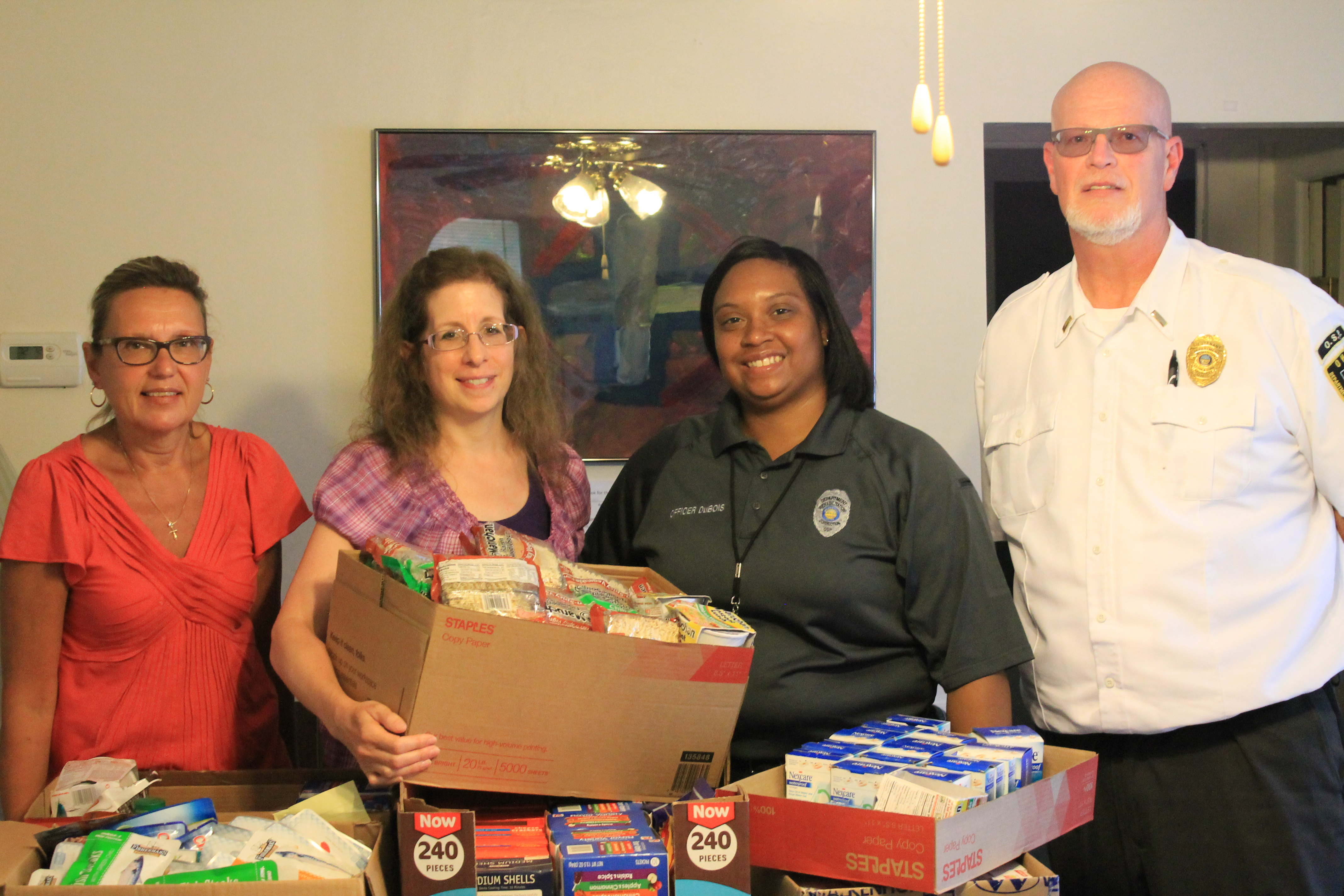 OSP Donates to Ursuline Sisters Ministry