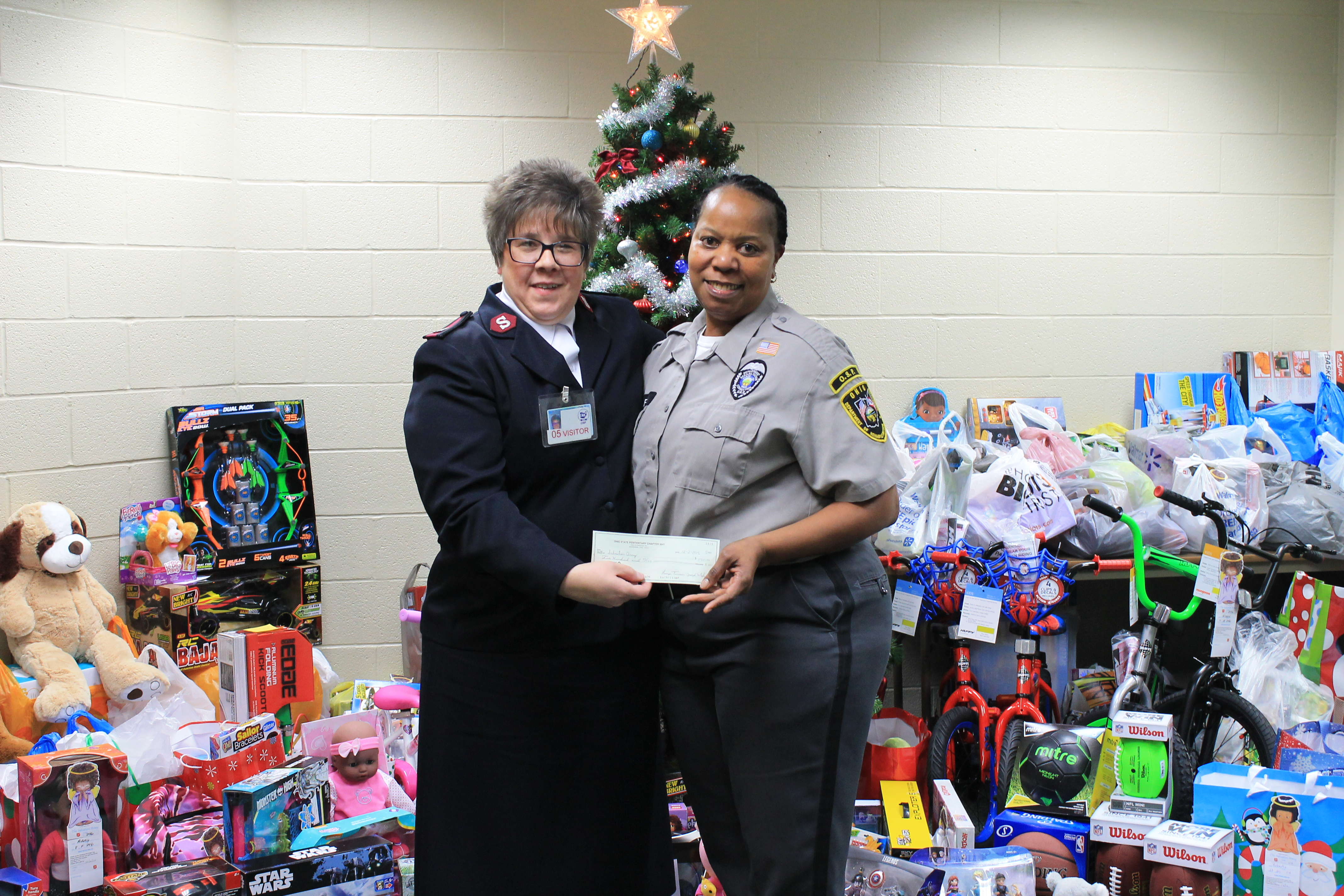 OSP Supports the Salvation Army Angel Tree Program