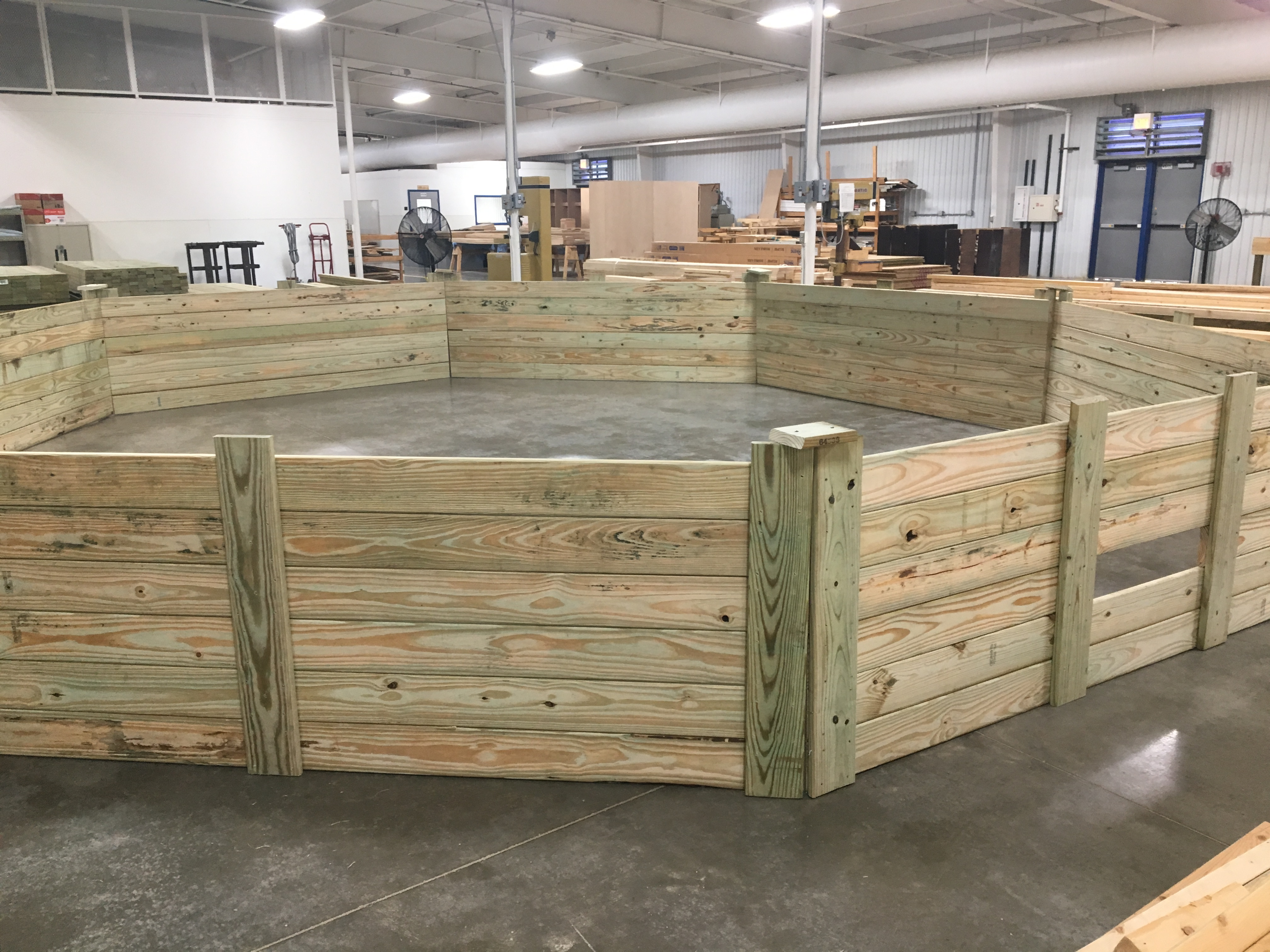 Octaball Pit for Noble County Agricultural Society
