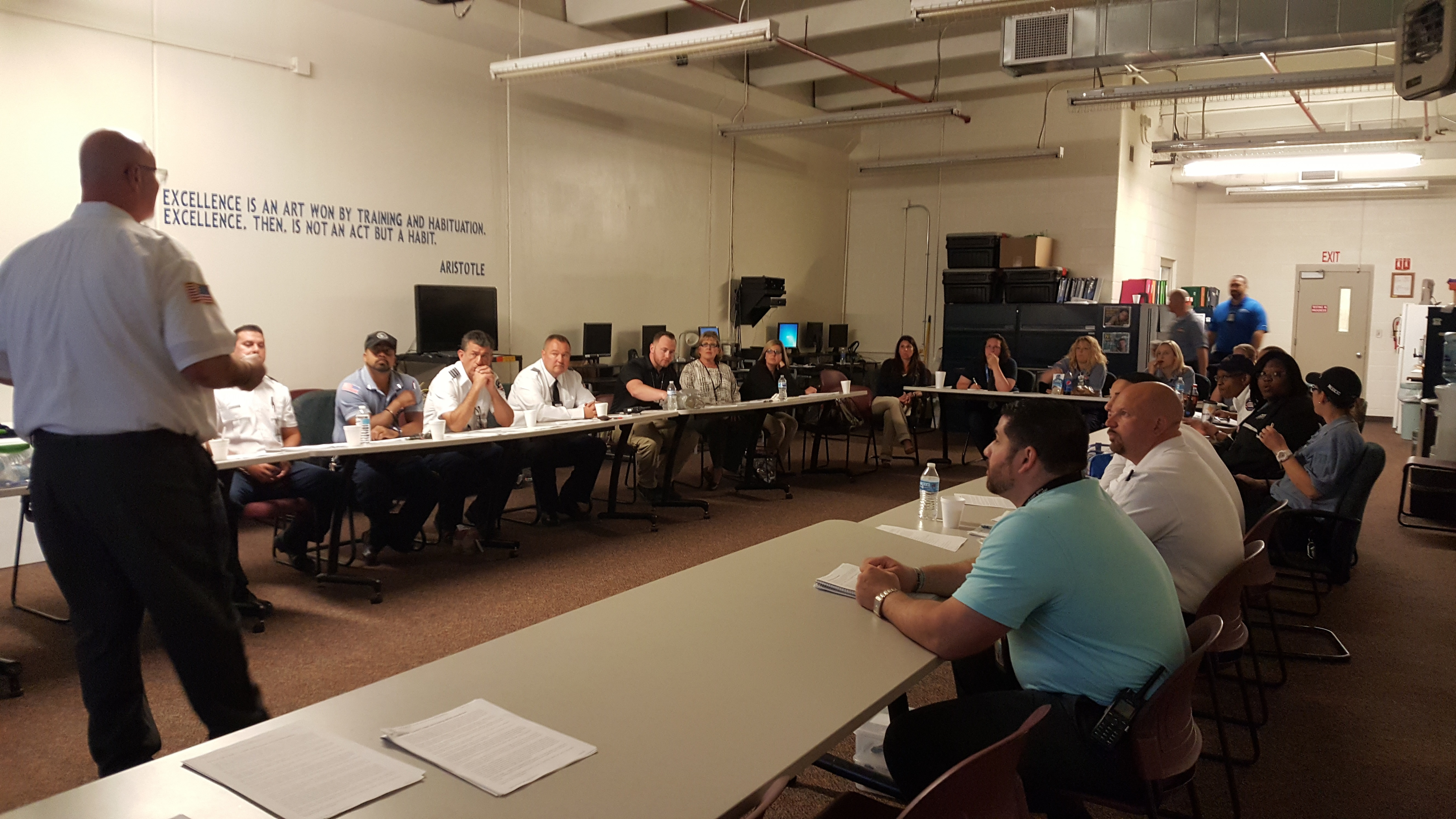Quarterly PIO Training Held at WKYC