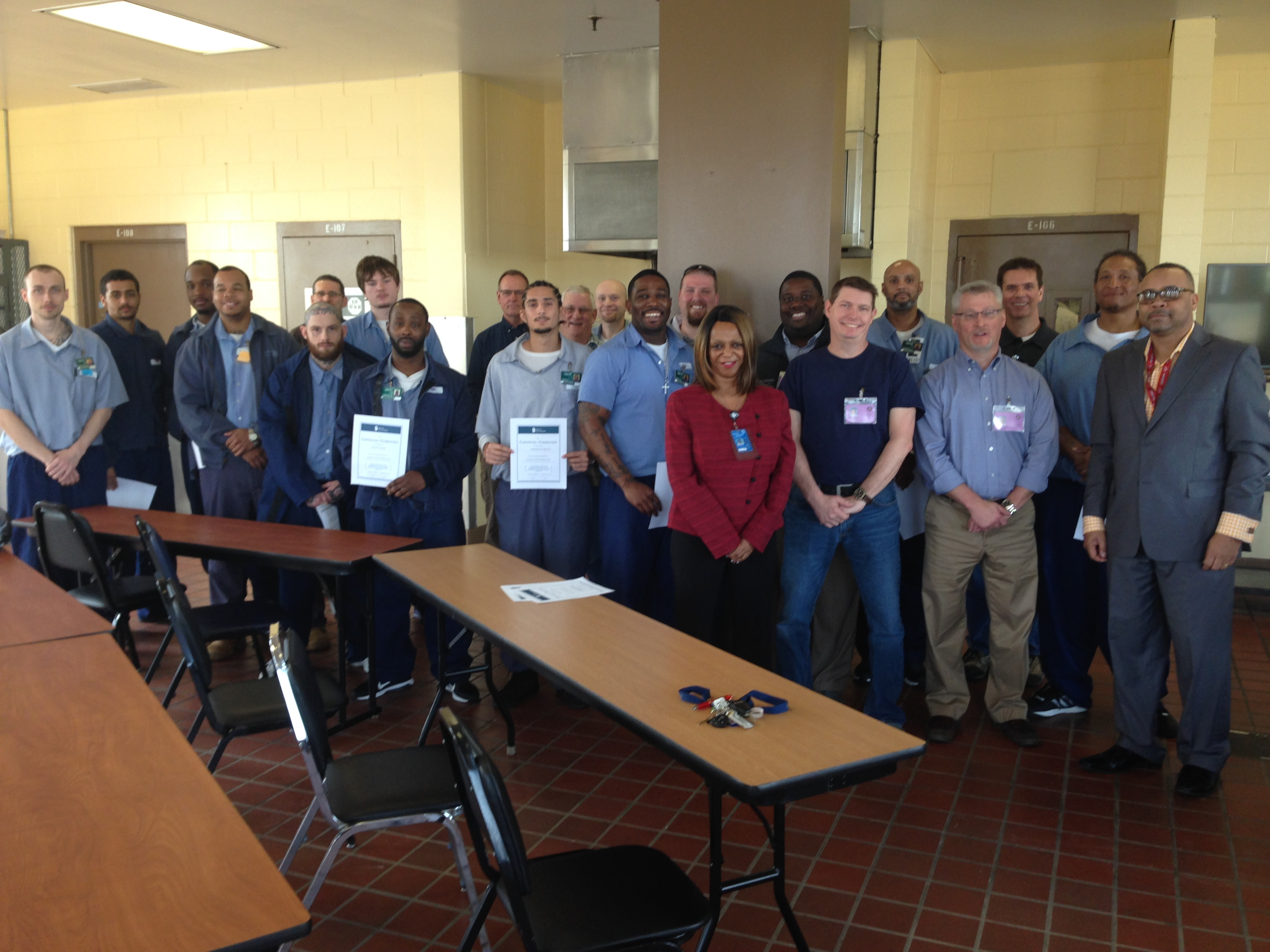 RCI Hosts Prison Fellowship Academy – Pre-Release Program Graduation Ceremony