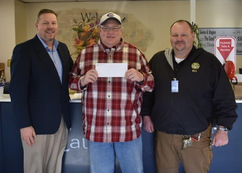 RCI Donates to Shriner's Hospital in Cincinnati