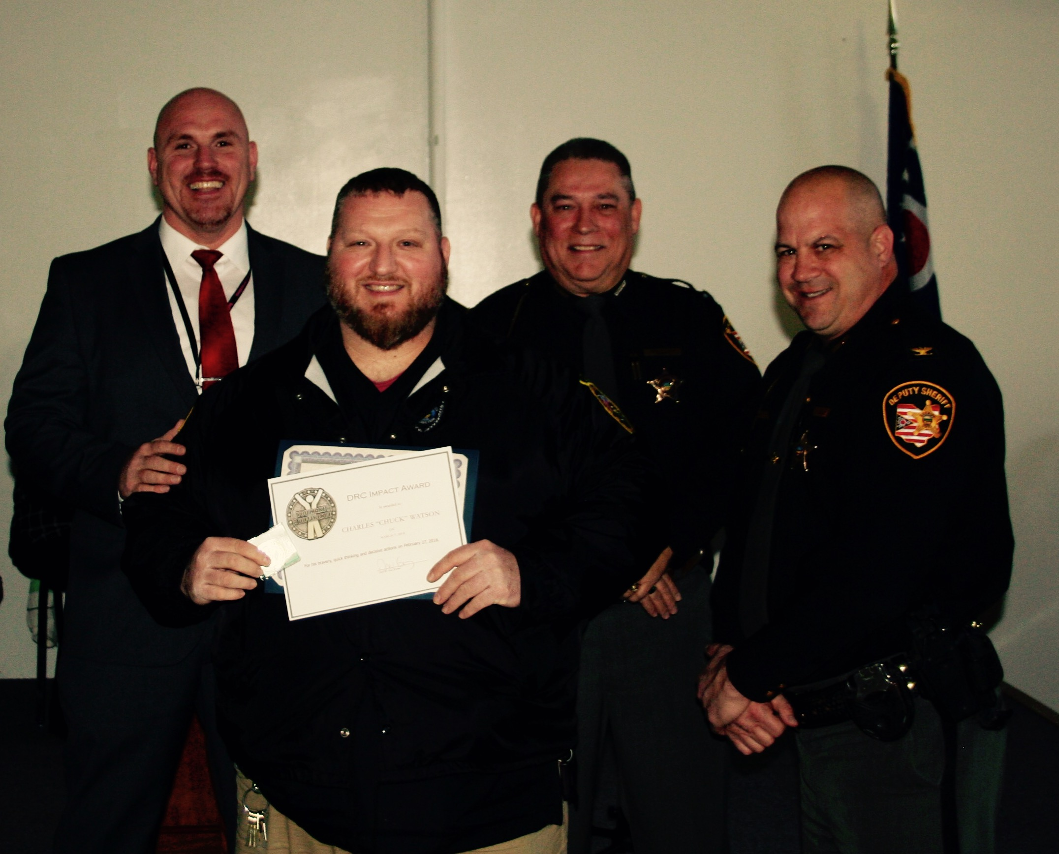 GAT Receives Sheriff's Civilian and Impact Awards