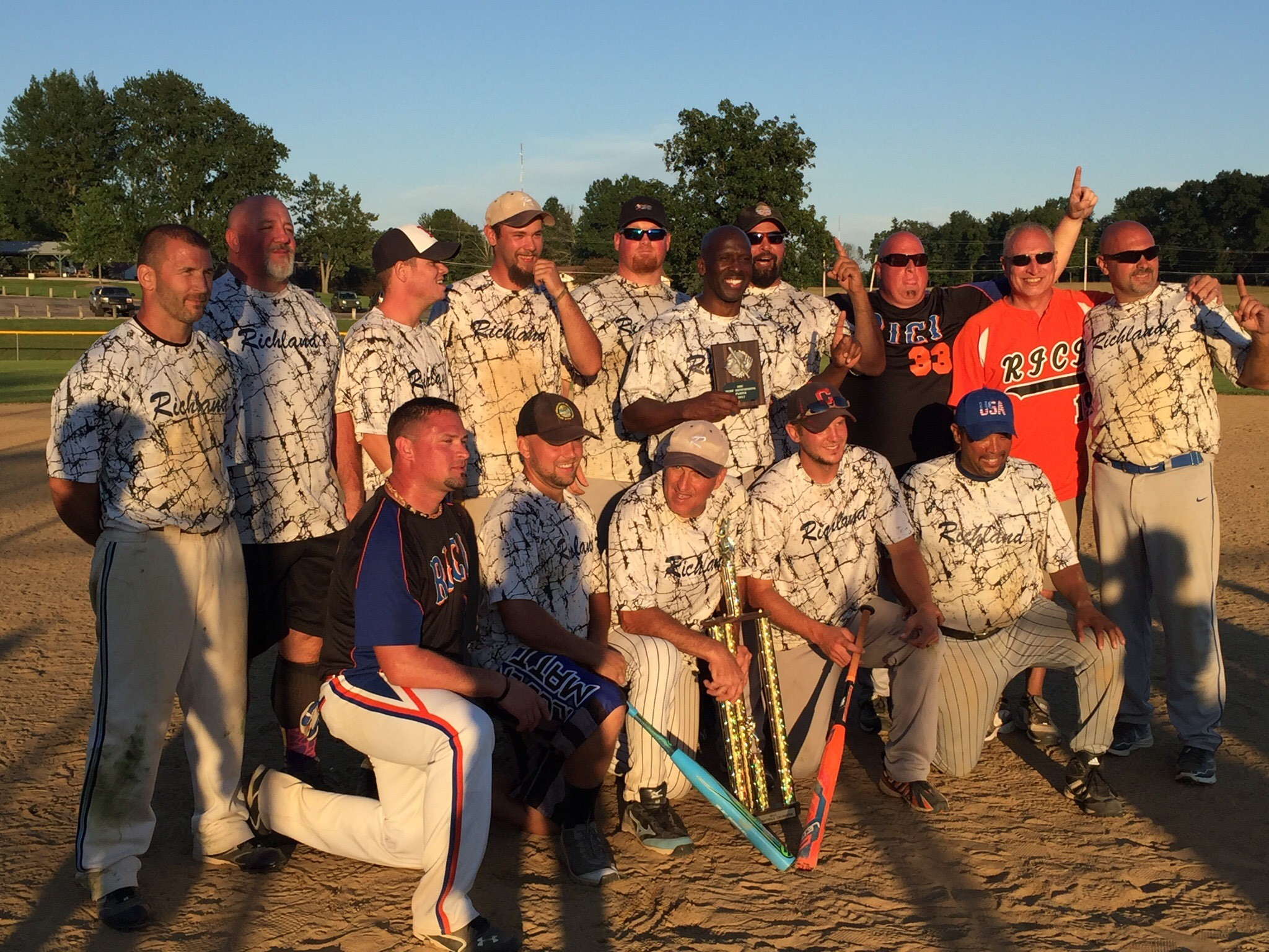 Richland Correctional Takes Softball Championship