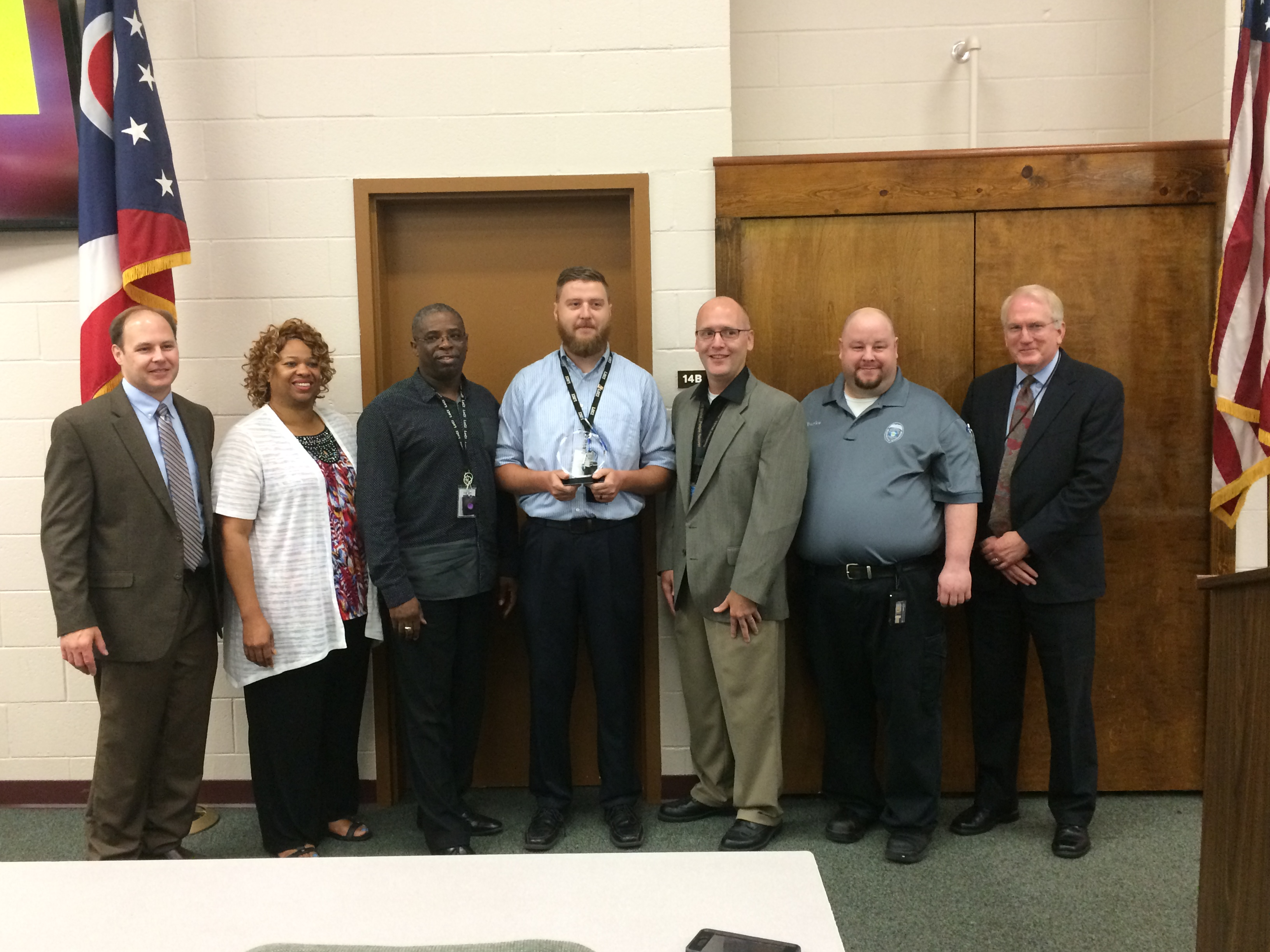Seth Howard Receives First Outstanding Recovery Services Staff Award