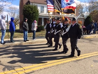 Honor Guard Participates in VA Parade Held in Chillicothe