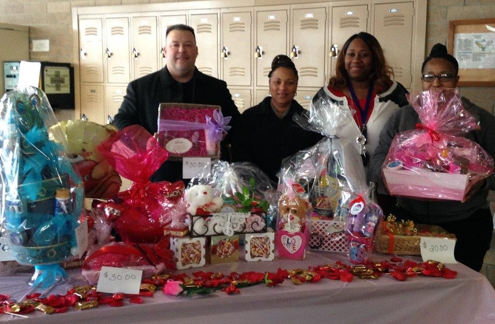Valentine Day Baskets Made by Women in Corrections
