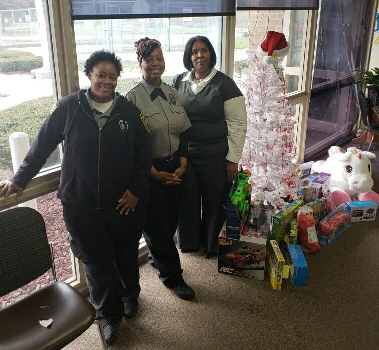 FMC Women in Corrections Sponsored The Franklin County Children Services