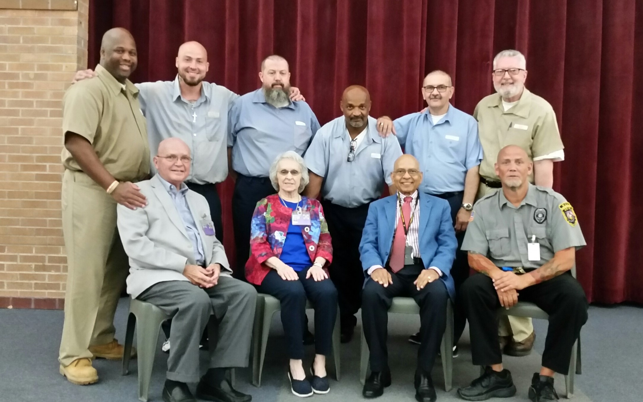 Winebrenner Reunion at Marion Correctional Institution
