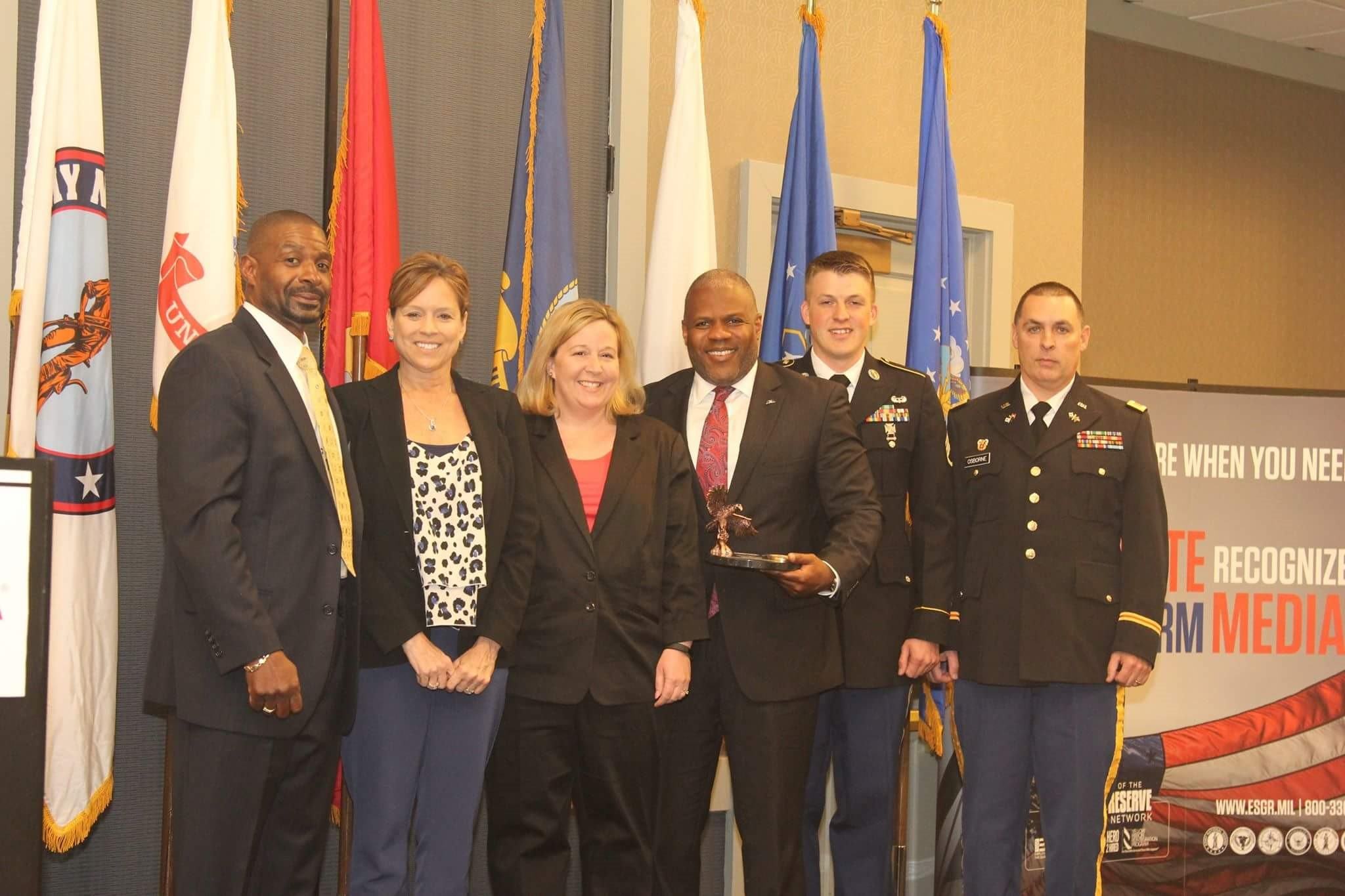 ESGR Honors DRC with the Pro Patria Award