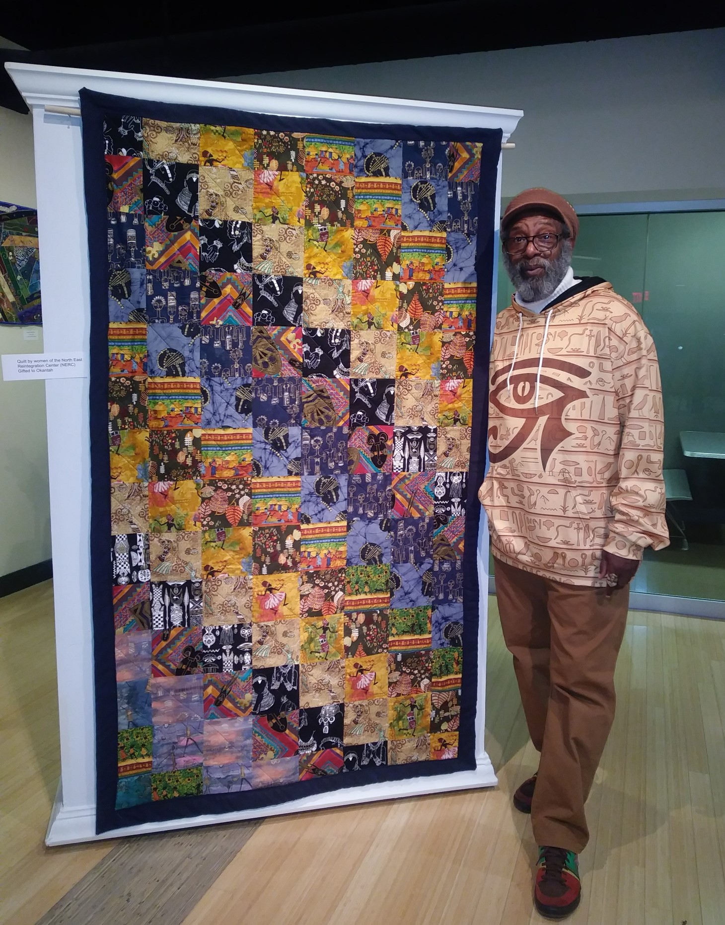 Offender Made Quilt on Display at Kent State University