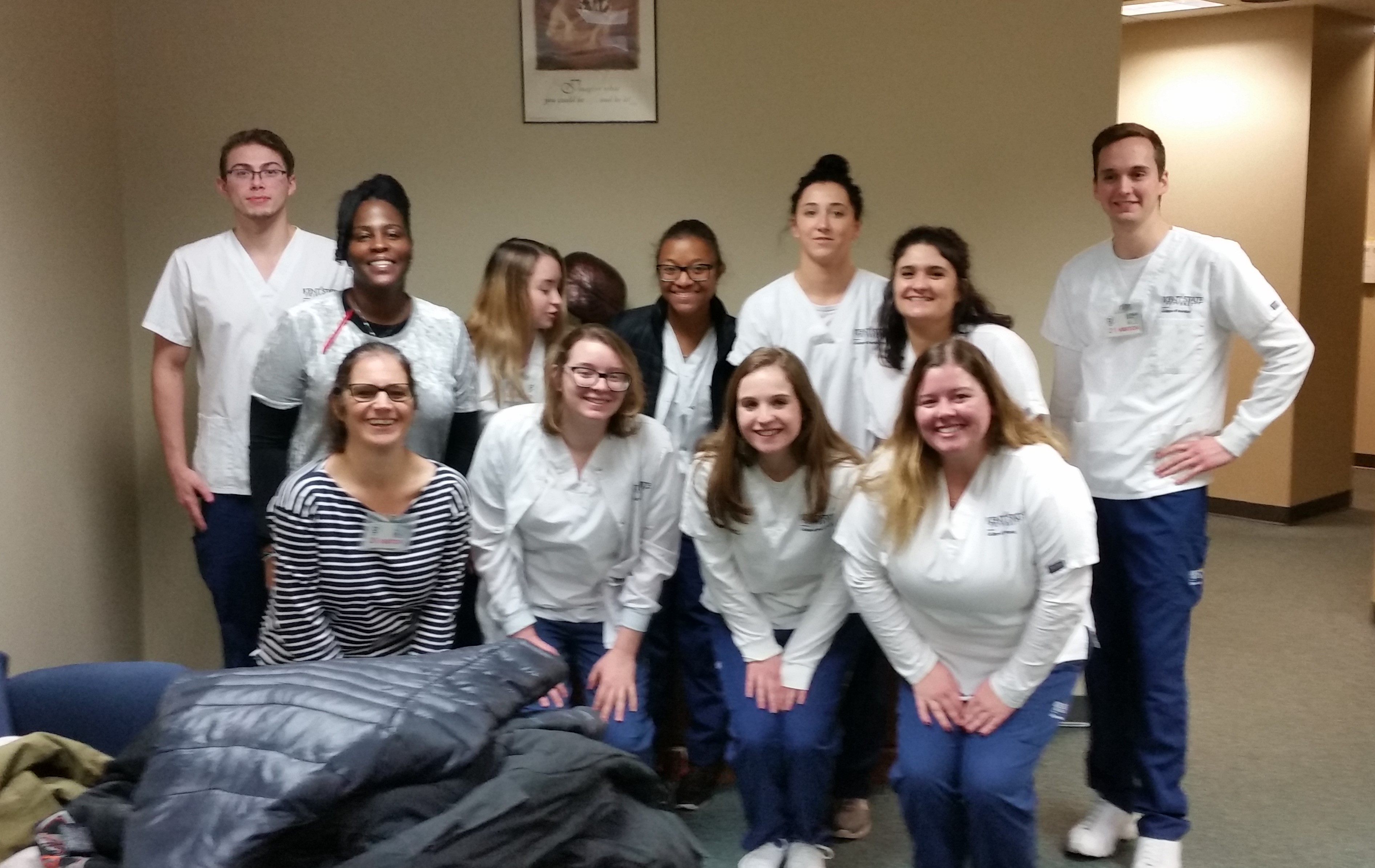 Nursing Students From Kent State University Visits OSP